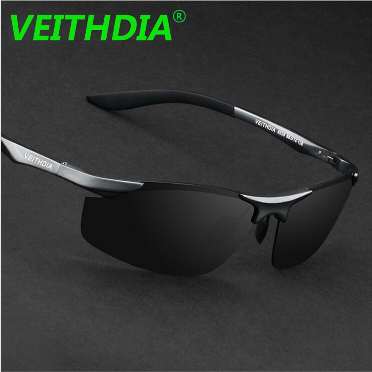 2c76cf4b20 ... VEITHDIA Aluminum Magnesium Brand Designer Polarized Sunglasses Men  Glasses Driving Glasses Summer 2017 Eyewear Accessories 6529 ...