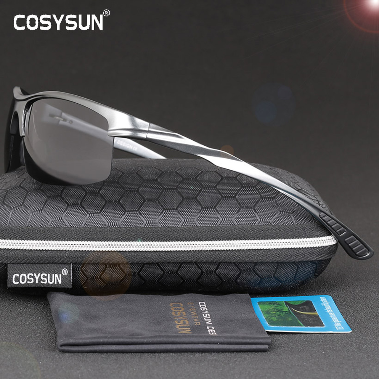 e187f5b0e58 COSYSUN Brand Aluminum Polarized Sunglasses Men Sports Sun Glasses Driving  Glasses Mirror Goggle Eyewear oculos de sol CS0213 - OnshopDeals.Com