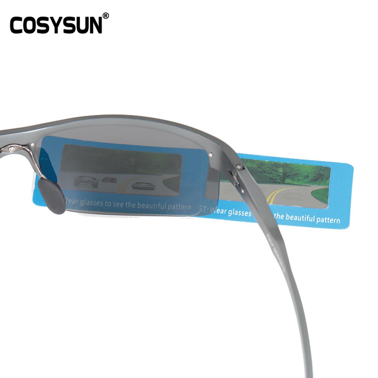 4b6e33268c7 ... COSYSUN Brand Aluminum Polarized Sunglasses Men Sports Sun Glasses  Driving Glasses Mirror Goggle Eyewear oculos de ...