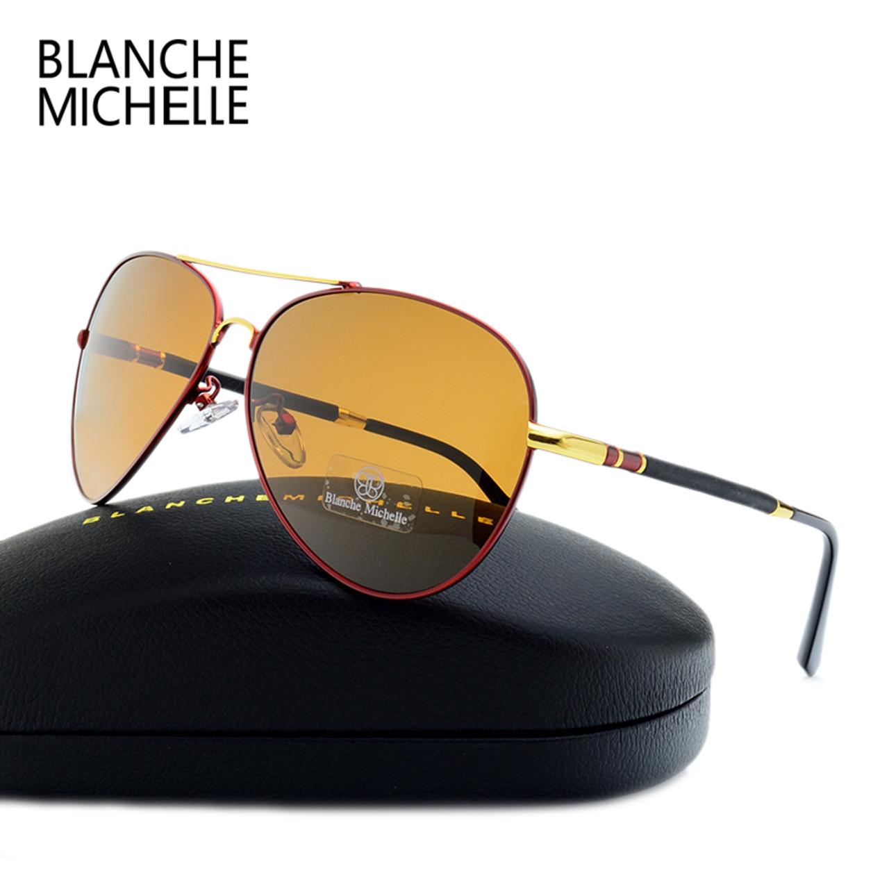 231c45a77f0f9 ... 2017 High Quality Pilot Sunglasses Men Polarized UV400 Sunglass Brand  Designer Driving Sun Glasses For Man ...