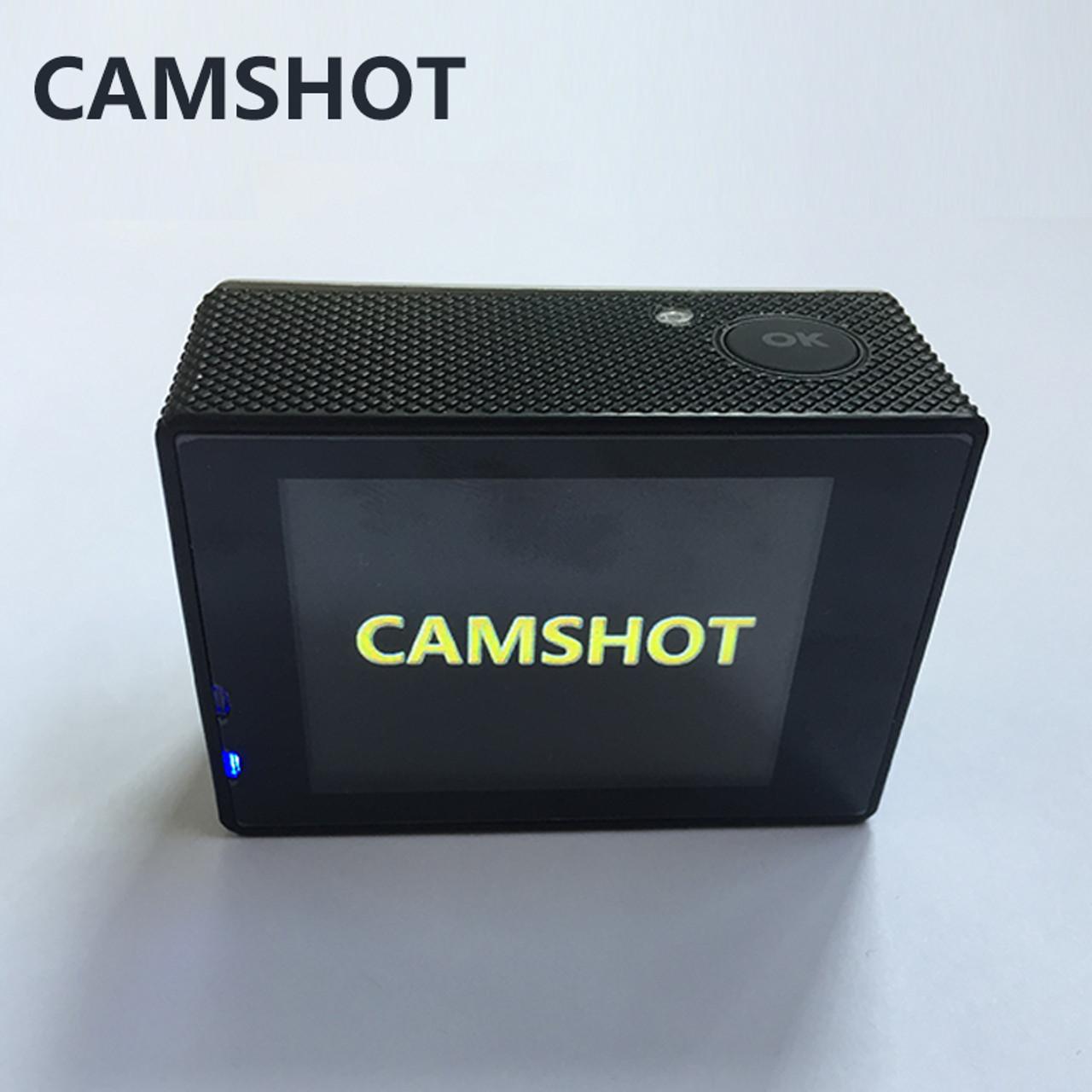 CAMSHOT Outdoor Sport Action Camera WIFI 4K 30fps 2 0LCD 1080P 60fps  underwater waterproof diving Surfing cycling helmet Cam