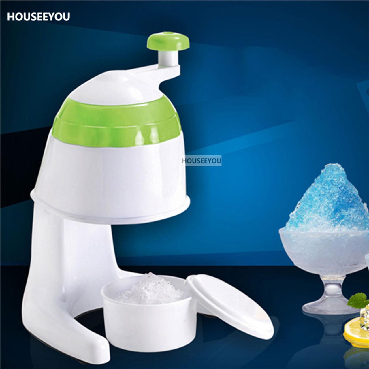 Diy Hand Crank Ice Crusher Shaver Smoothies Machine Manual Water Ice Maker Freezer Drink Slushy Maker Blender Cocktail Maker Onshopdeals Com