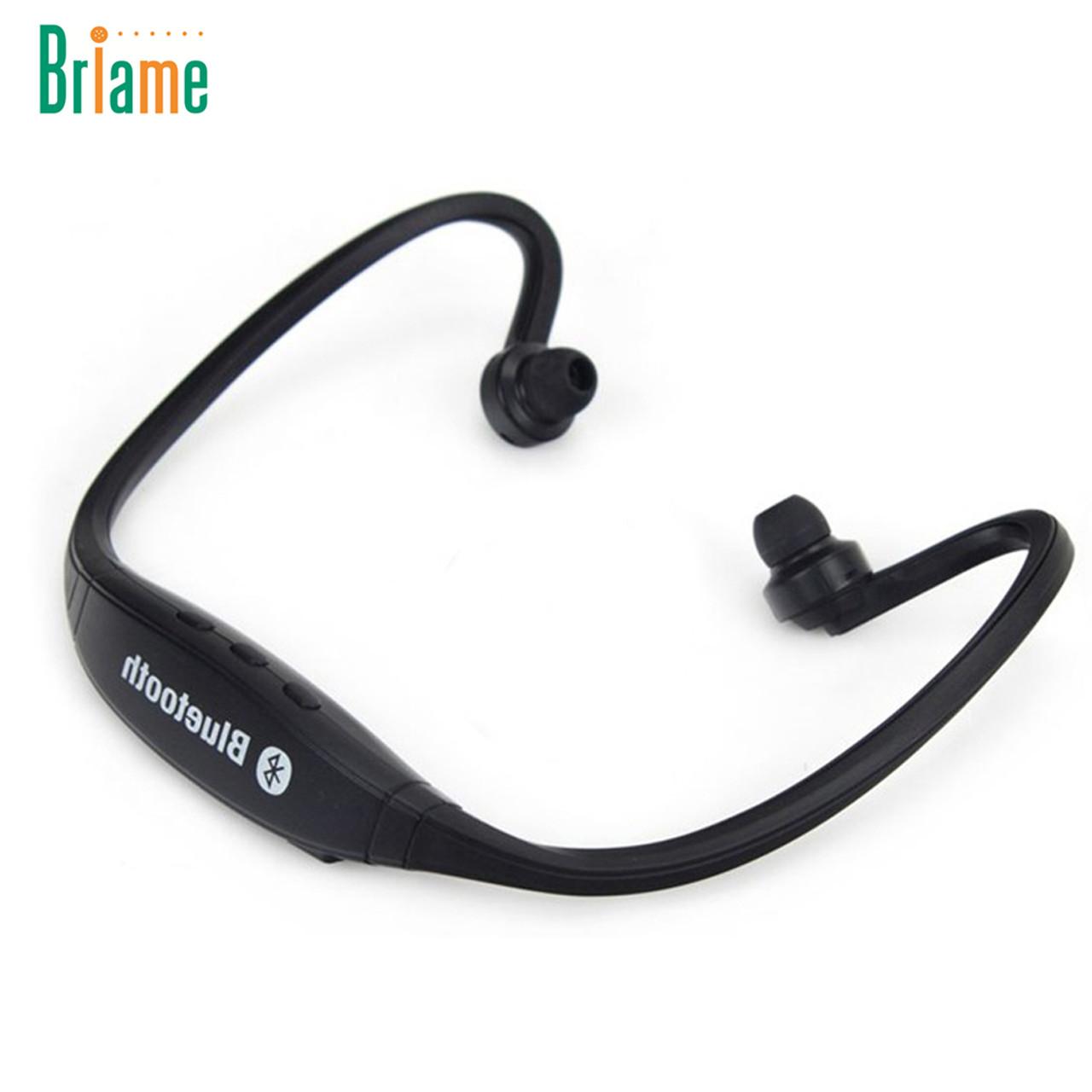 Briame S9 Sport Wireless Bluetooth Headset Handsfree Earphone Running Stereo Bluetooth Headphone For Iphone Samsung Xiaomi Onshopdeals Com