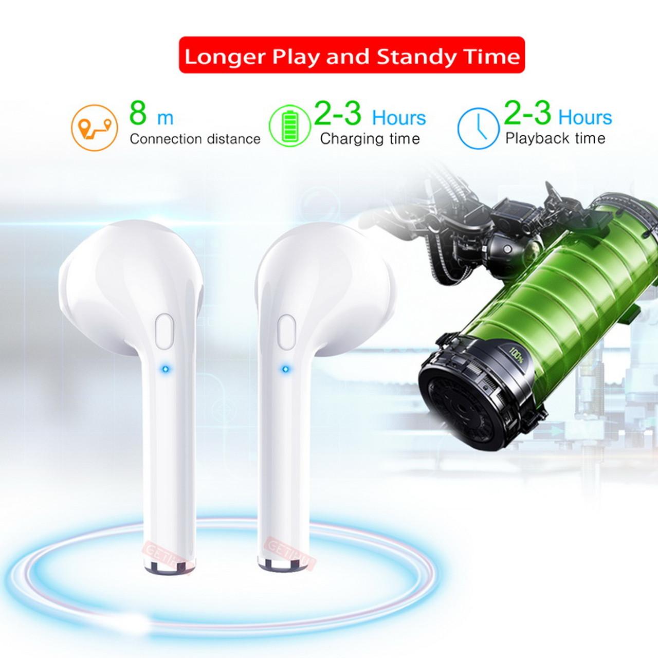 d1b7713e164 ... GETIHU Mini Twins Bluetooth Sport Earphones Stereo headphones in Ear  Buds wireless Earbuds handsfree Headset For ...