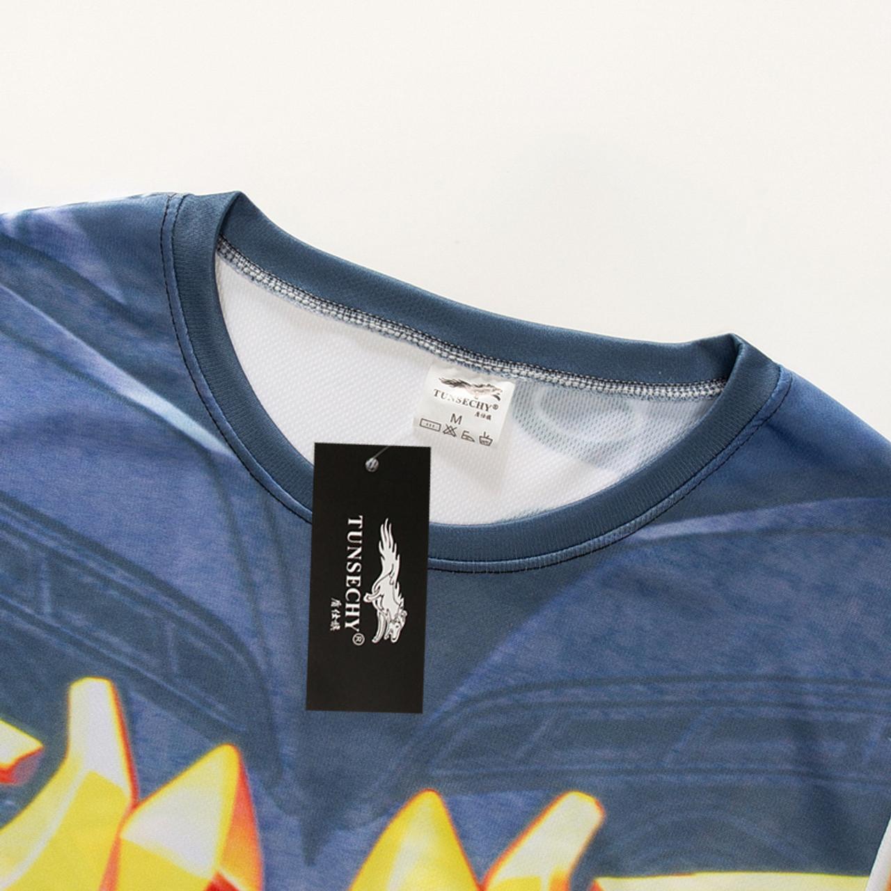 TUNSECHY Avengers Superhero T-shirts Batman Spiderman Superman Captain  America Digital printing T-shirts Free transportation