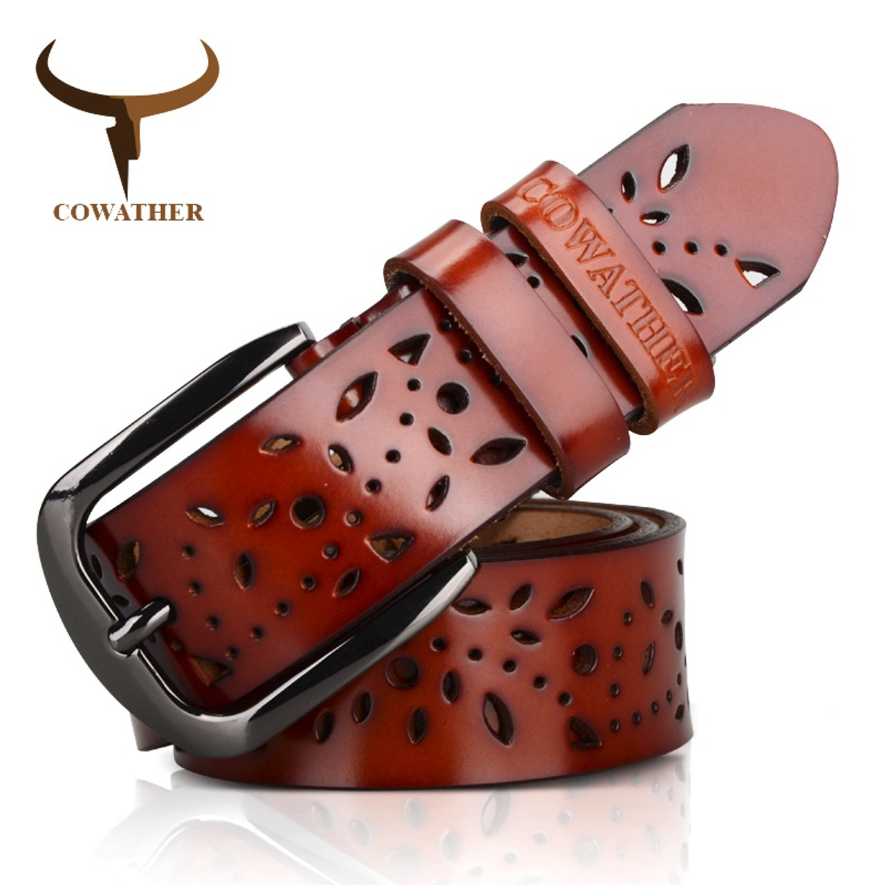 Apparel Accessories Clever New Cow Leather Belts Men Vintage Pin Buckle Male Waistband Genuine Leather Men Belt Flower Pressed Strap Waist Belt For Jeans Goods Of Every Description Are Available