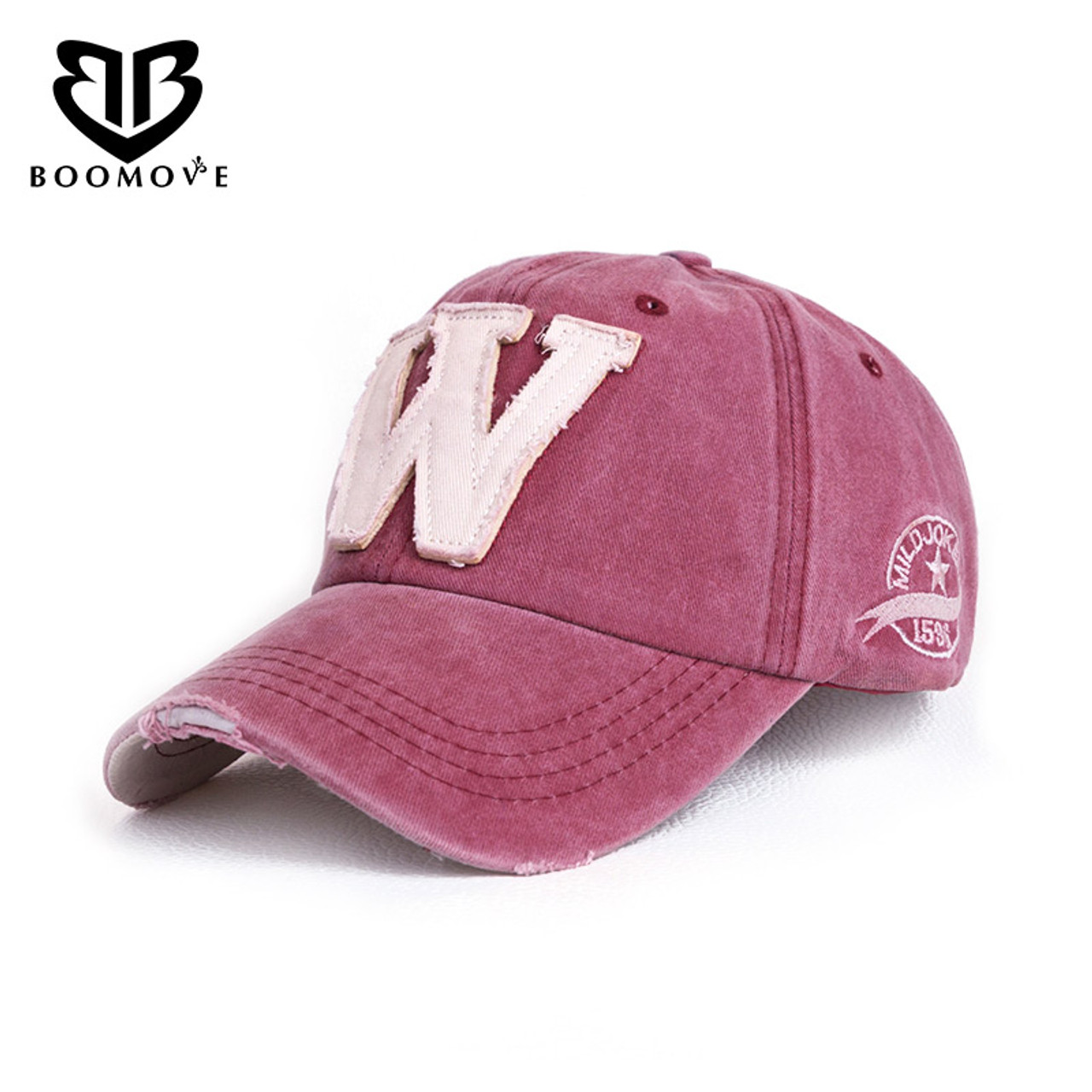 4c608d9d931 BOOMOVE Brand Casual Baseball Caps For Women Men High Quality Gorras  Fashion Letter Women Caps Embroidery ...