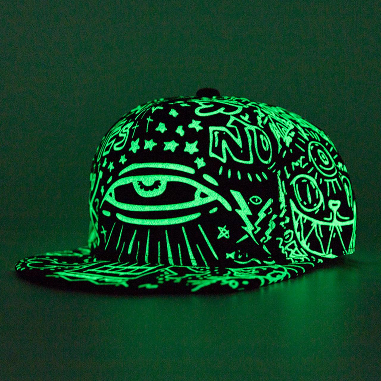 5c0c4060a07ec ... New Fashion Women Men Fluorescence Hip Hop Polo Hats Luminous Gorras  Sport Baseball Caps Casquette Light ...
