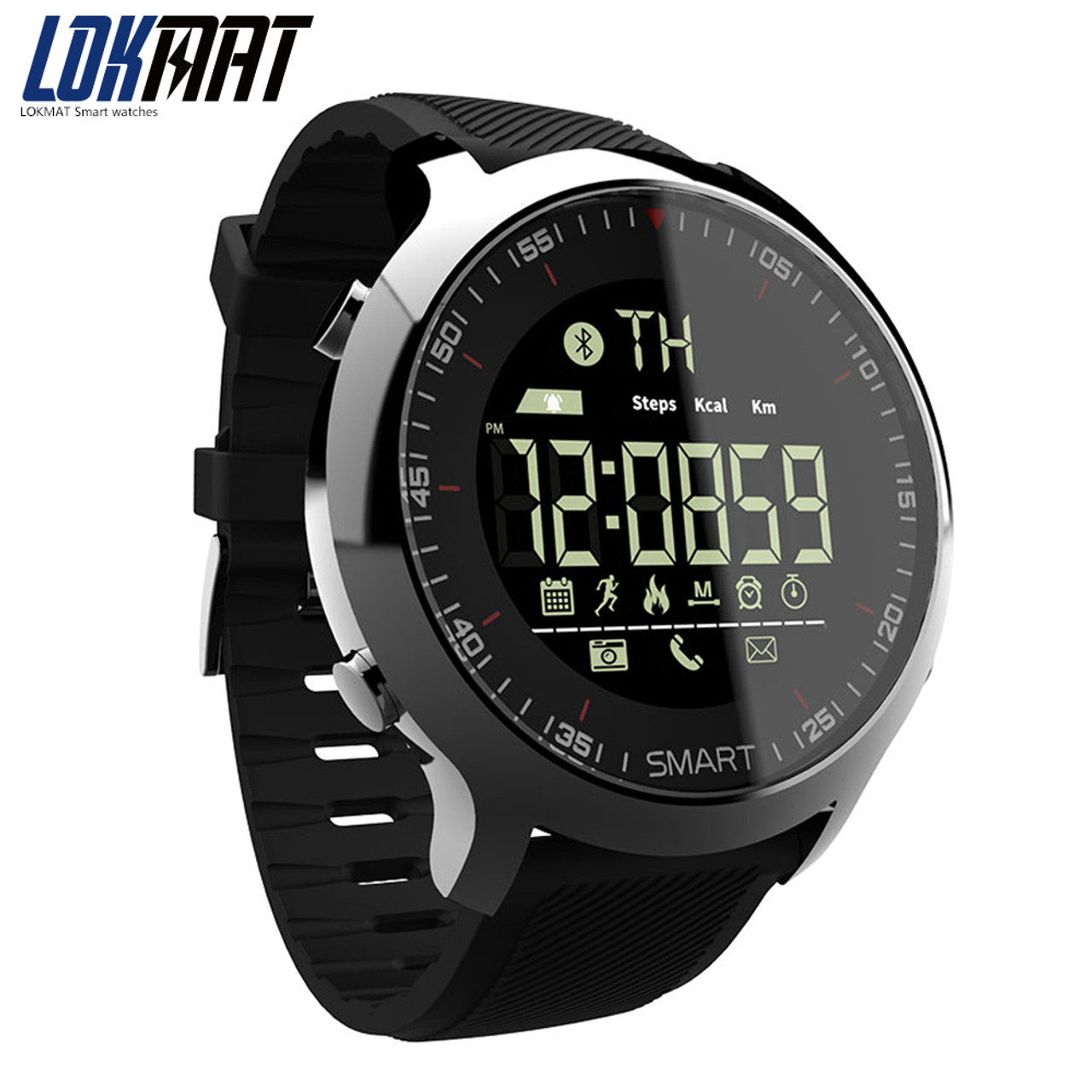 e80a52dc2a695c Bluetooth Smart Watch Sport pedometer Waterproof Call Reminder digital men SmartWatch  Wearable Devices For ios Android ...