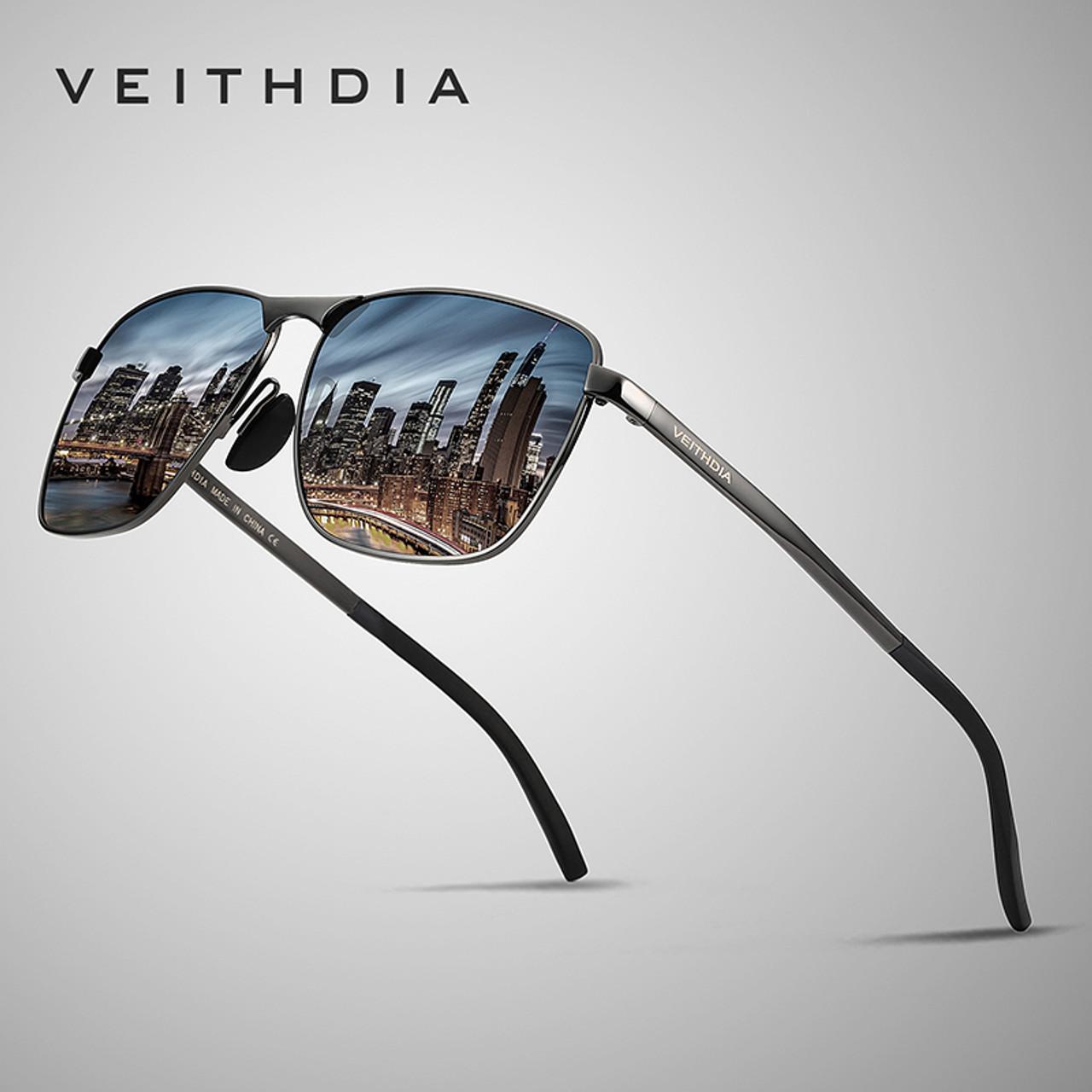 1c17ace627 VEITHDIA Brand Men s Vintage Sunglasses Polarized UV400 Lens Eyewear  Accessories Male Sun Glasses For Men  ...