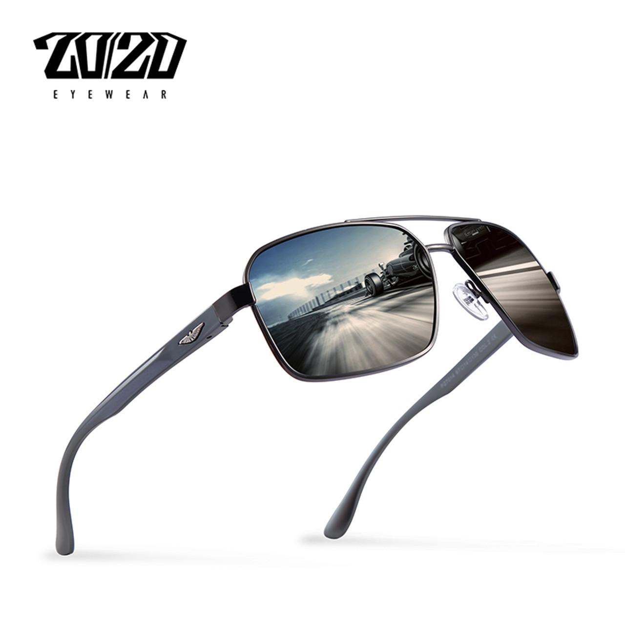 c0b9218444 20 20 Brand Design New Aluminum Polarized Sunglasses Men Travel Driving Sun Glasses  Classic Male Eyewear Gafas PZ7014 - OnshopDeals.Com