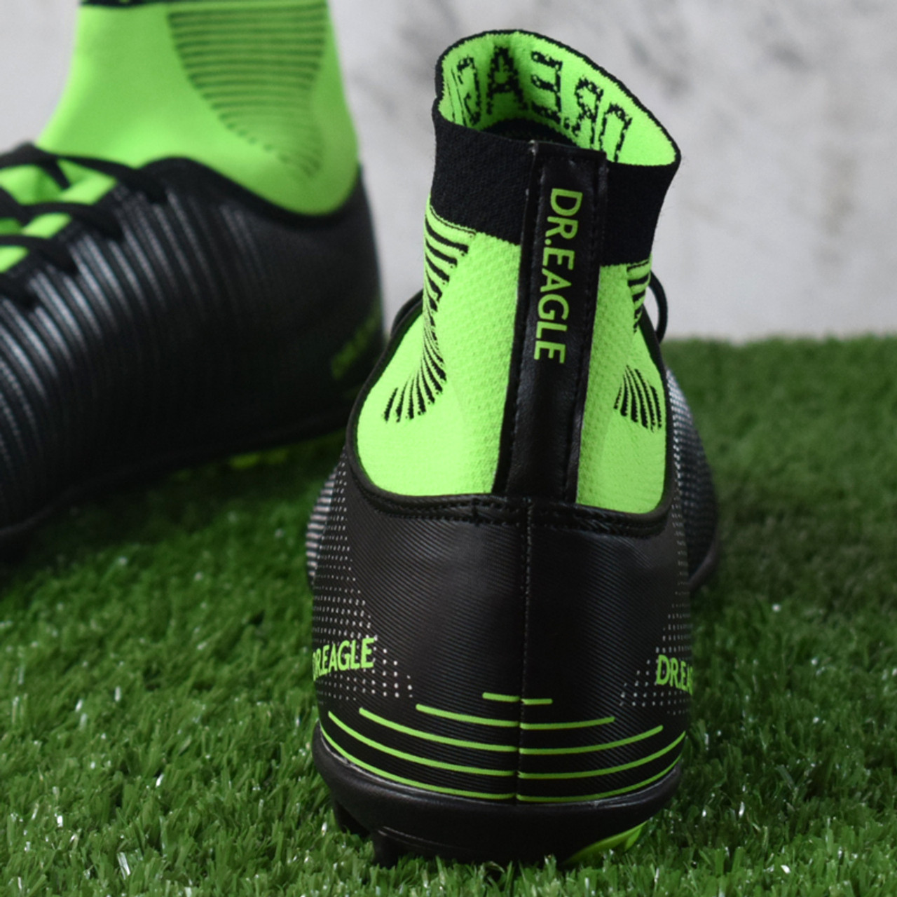 e2e9a215f EAGLE TF  turf Indoor high ankle soccer cleats football shoes futsal  Footballs Sock ...
