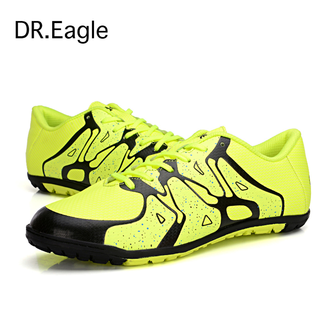 23f46e25f Kids indoor soccer shoes for men boot futsal shoes child soccer cleats size  33-44 ...