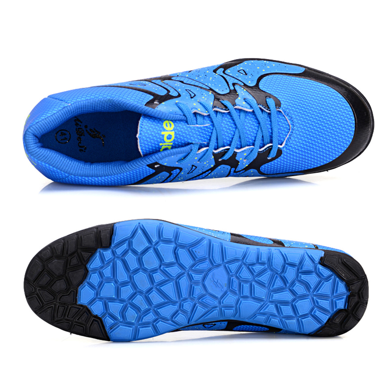 2804ce4a008 ... Kids indoor soccer shoes for men boot futsal shoes child soccer cleats  size 33-44 ...