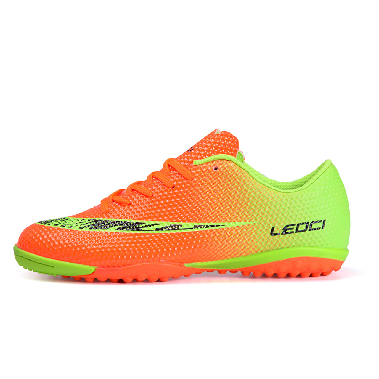 86e13c536 Men Broken Nails Football Shoes Long Spikes Soccer Cleats For Adult &  Children Newest Training ...