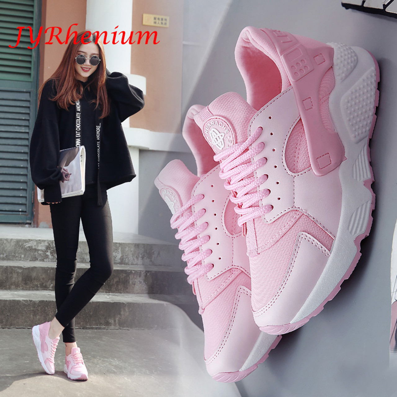New Women/'s Sports Shoes Casual Running Jogging Shoes Athletic Walking Sneakers