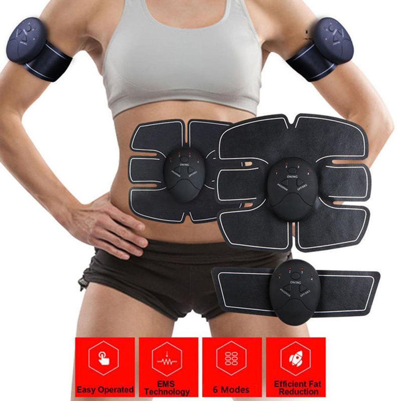 Stickers Muscle Fitness Exercise Patch Replacement Abdominal Training Device
