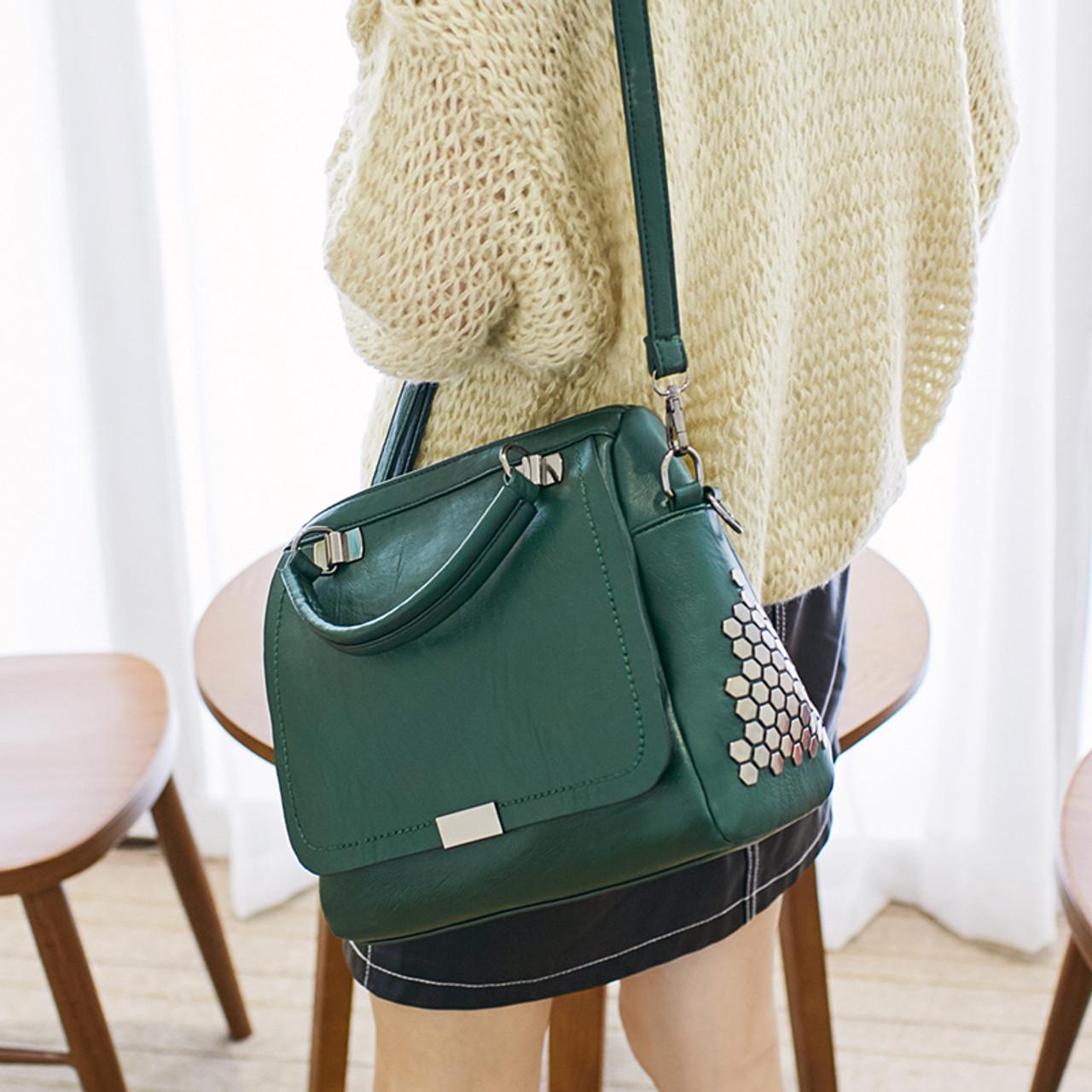 ... Bolish Casual Women Soft Pu Leather Handbag Female Shoulder Bag  Messenger Bag Larger Size Winter Women ... 2b4c6d090e