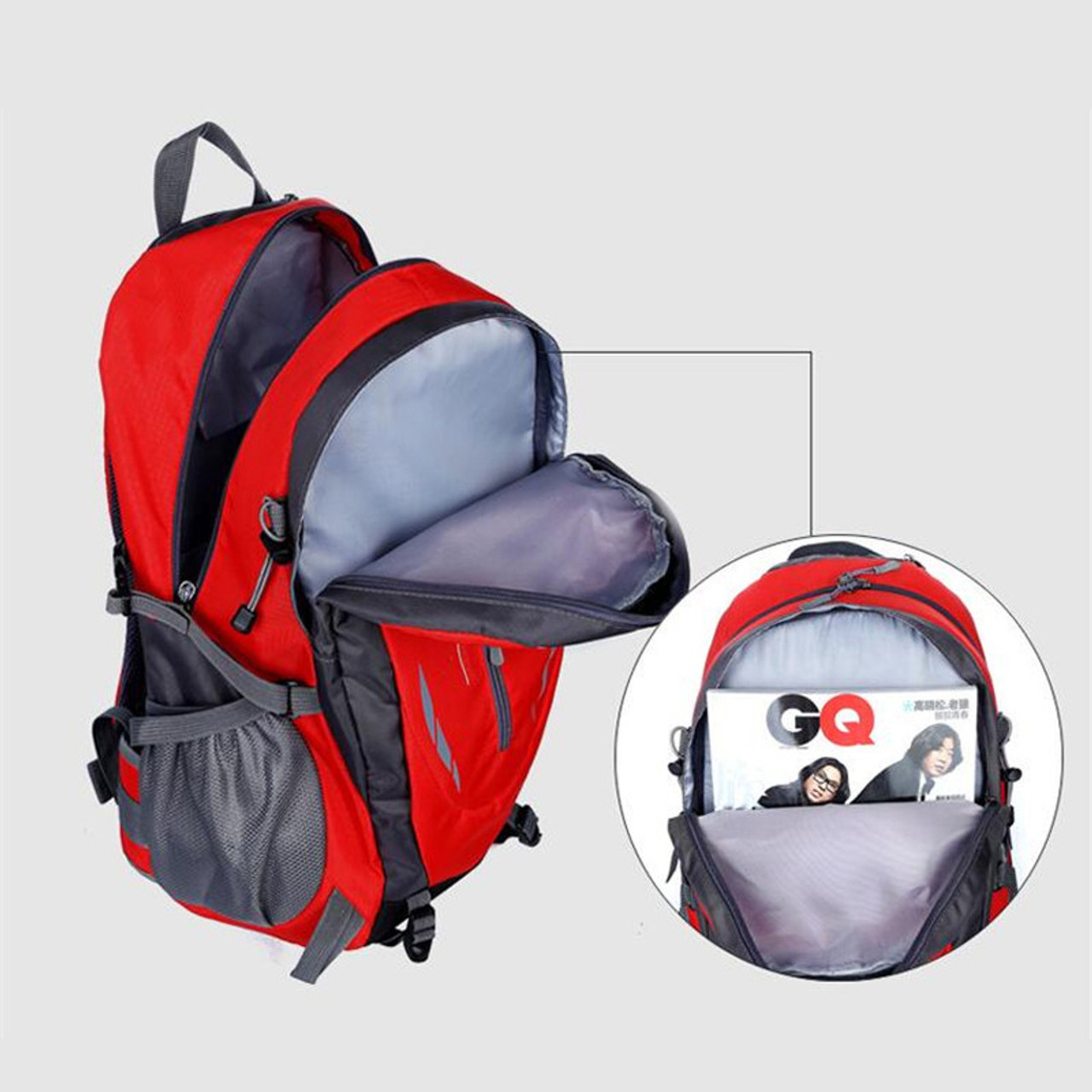 e7e5ce2fe1 ... Hot Sale Nylon Black Backpack Waterproof Men s Back Pack Laptop Mochila  High Quality Designer Backpacks Male ...