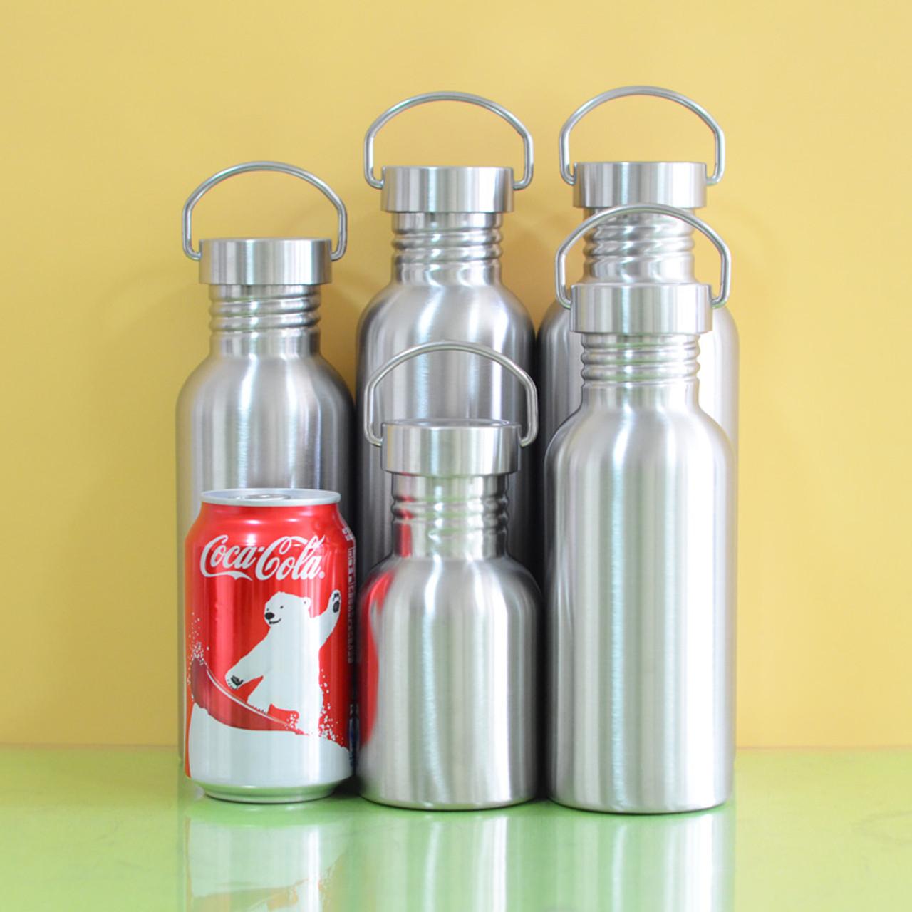 14c6f675502 BPA Free Full Stainless Steel Water Bottle Leak-proof Jar Sports Flask for  Yoga Biking ...
