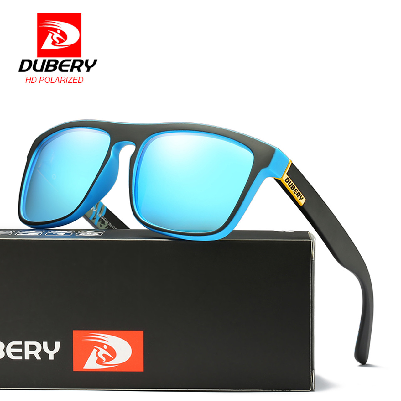 b7b20a7099 DUBERY 2018 Polarized Sunglasses Men s Aviation Driving Shades Male Sun  Glasses For Men Retro Cheap Luxury ...