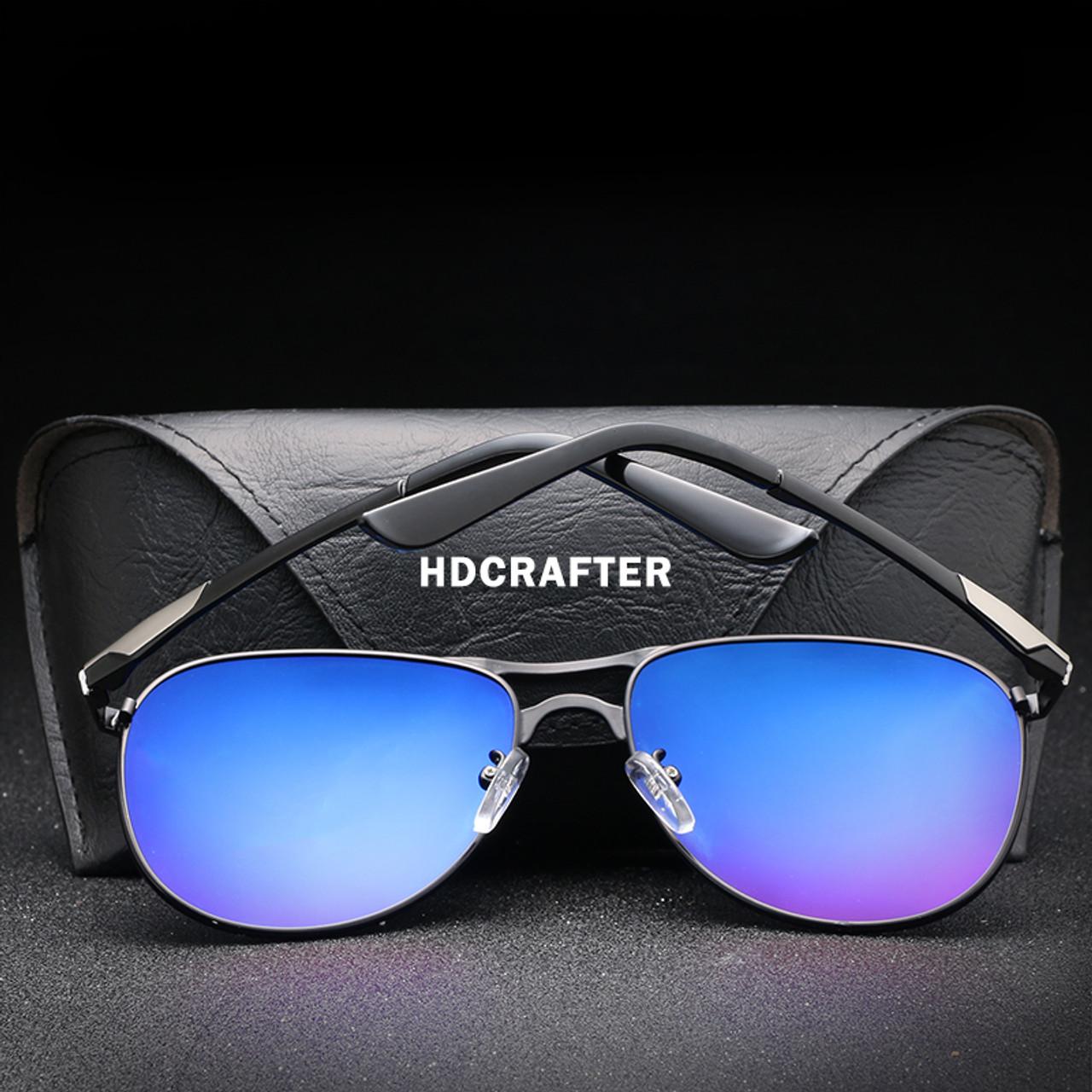 6f2ecb954 ... HDCRAFTER Brand Designer Polarized Sunglasses Man Cool Sun Glasses Men  UV400 Protection Goggle Eyewear Accessories For ...