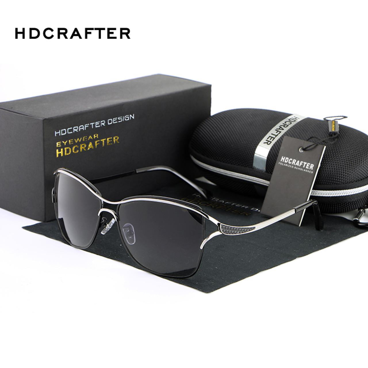 36b450d3e8b ... HDCRAFTER 2017 Luxury Brand Sunglasses for Female Elegant Sun Glasses  for Women anteojos de sol mujer ...