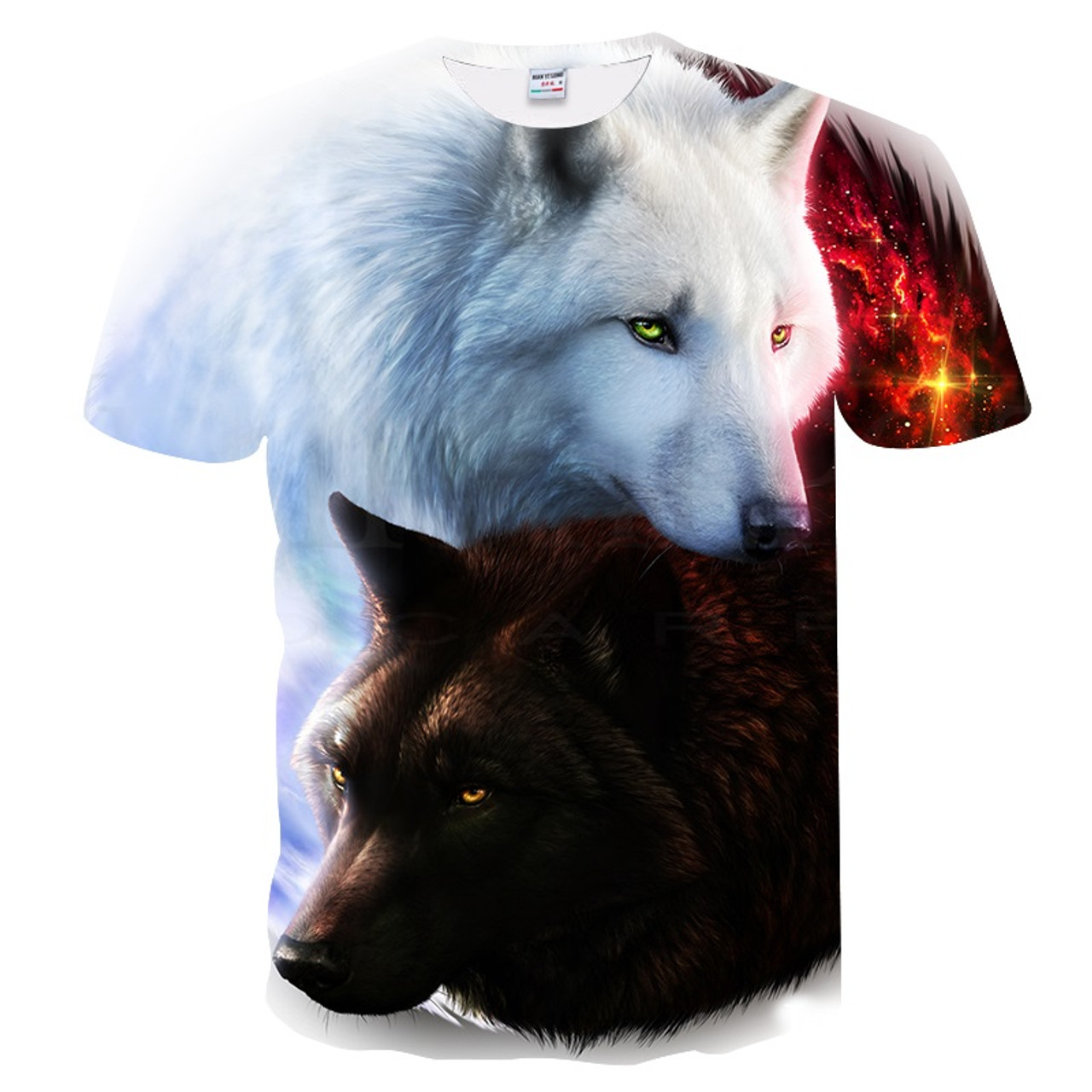 65aabc5ba04 ... BIANYILONG 2018 New T-shirt Men Women 3D Print Meow Black white Cat Hip  ...