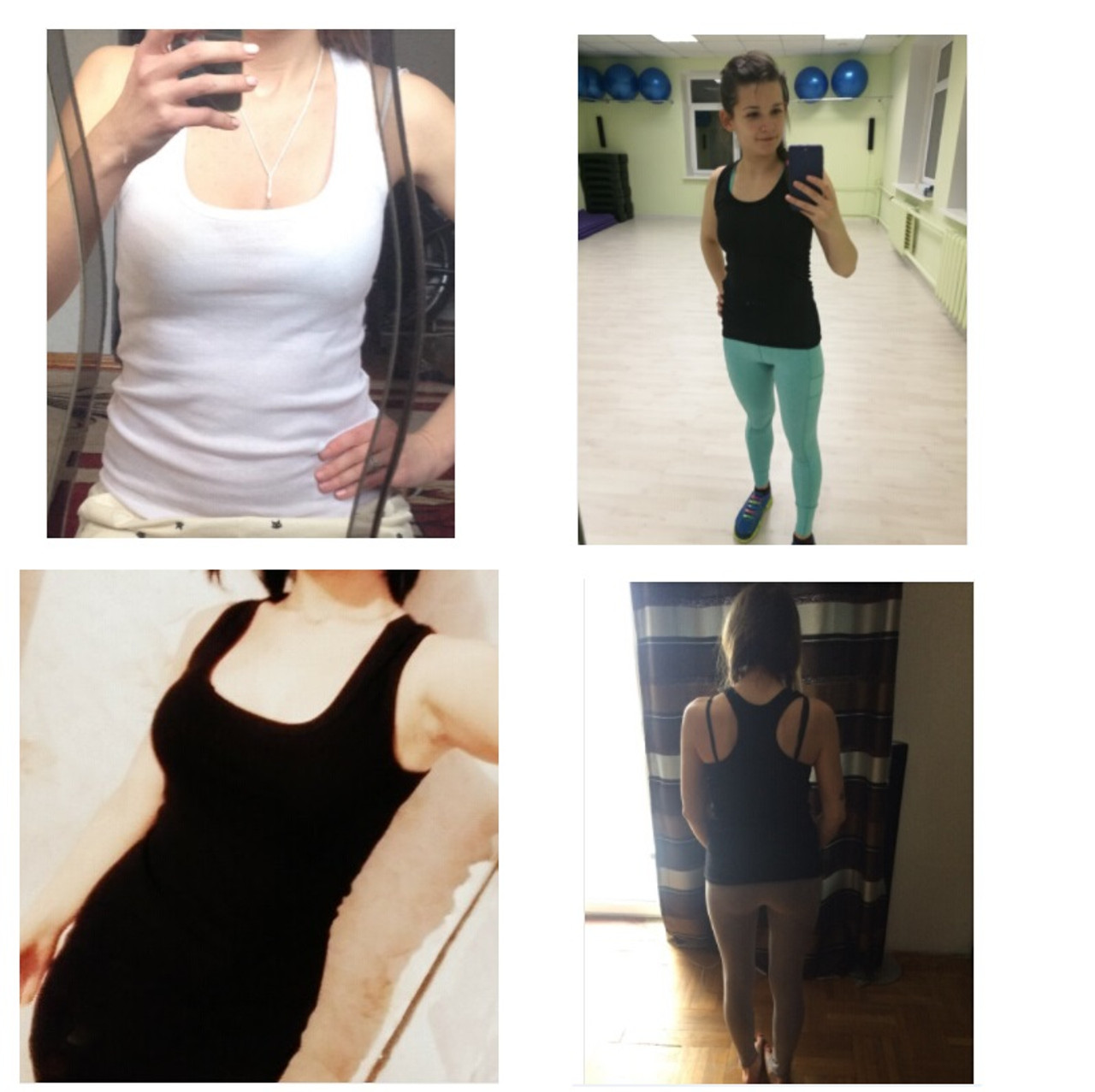 f85f880eeb1f ... 2018 Summer Sexy Low-cut Basic T-shirts Fashion Lady Tank Top Solid  Comfortable ...
