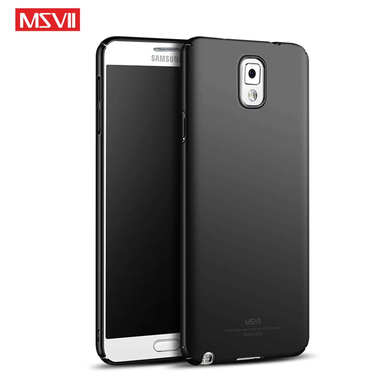 huge discount a8f28 0a3c0 Original MSVII For Samsung Galaxy Note 3 Case Hard Frosted PC Back Housing  Cover 360 Protection Phone Cases For Samsung Note3