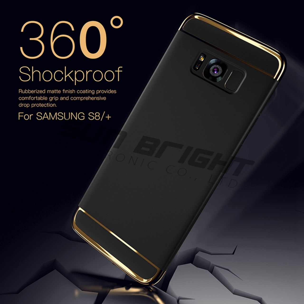 the best attitude f33c6 53c15 For Galaxy S8 Plus Case Luxury 360 Full Back Armor Hybrid 3 in 1 PC Ultra  Slim Hard Phone Cases For Samsung Galaxy S8 Case Cover