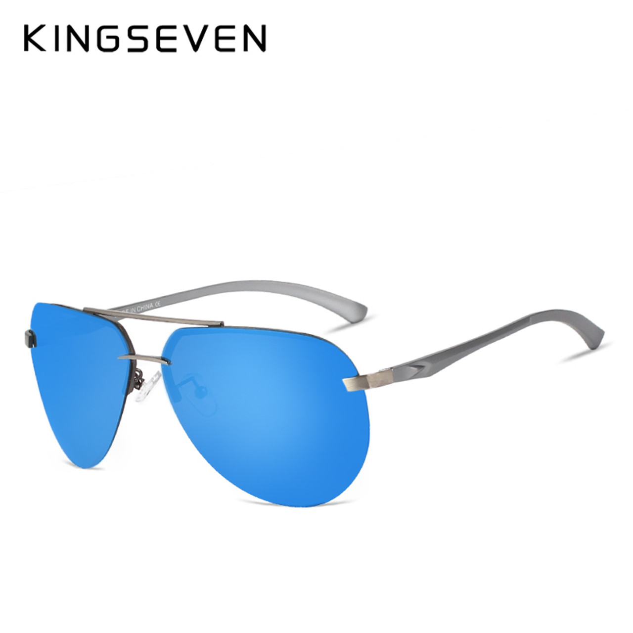 8c474b7a91521 kingseven Aluminum magnesium HD polarized aviation Sunglasses women men  driving sun Glasses vintage oculos de sol ...