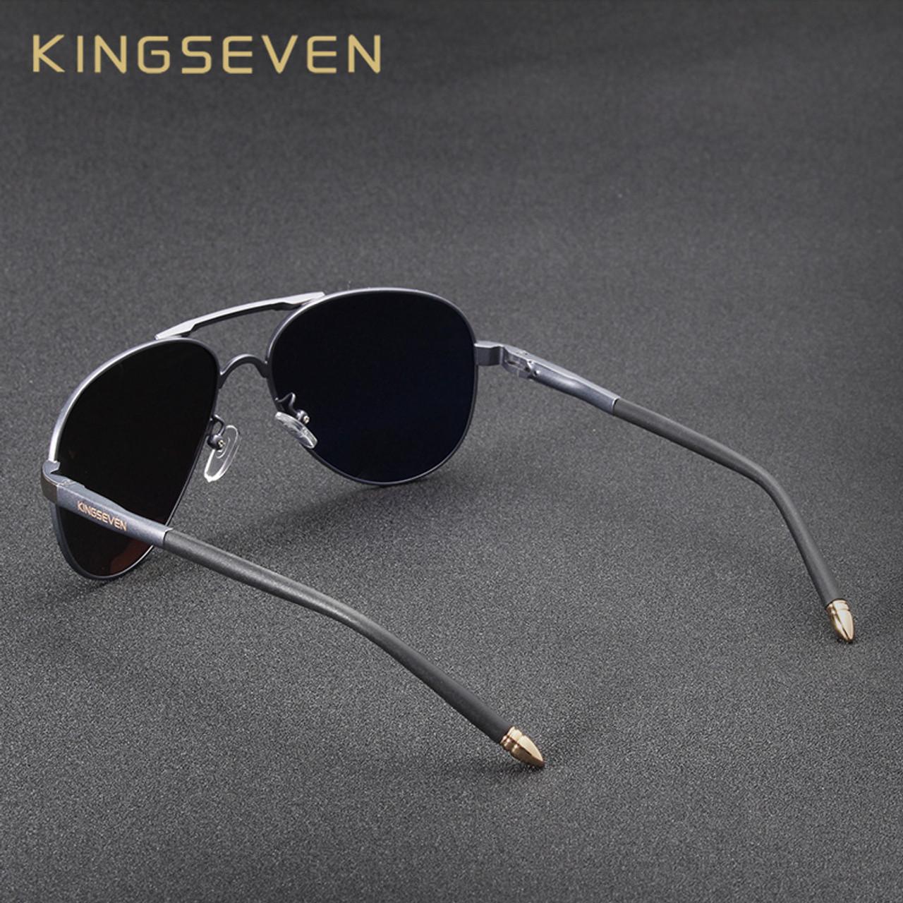3faeddd72eb ... KINGSEVEN Brand New Unisex Aluminum Polarized Sunglasses Women Men  Design Travel Driving Sun Glasses Classic Male ...