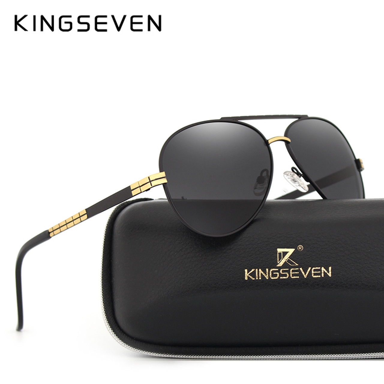 8c761f48cc Hd Men s Polarized Kingseven Brand Fashion Classic Sunglasses aWqPf0