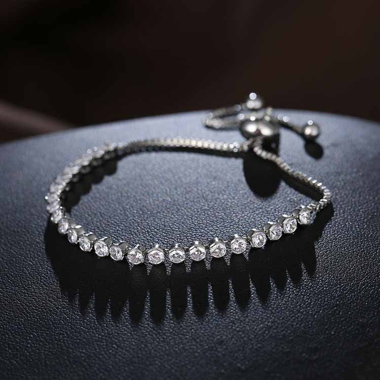 Encogimiento sarcoma Animado  wholesale 100% 925 Silver Charm Beads Crystals from Swarovski Bracelet for  Women Authentic 925 Jewelry Fine girl Gift - OnshopDeals.Com