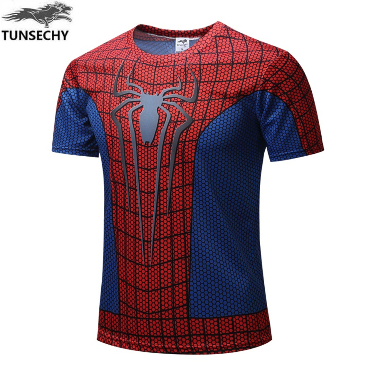 New 2018 Batman Spiderman Ironman Superman Captain America Winter soldier Marvel  T shirt Avengers Costume Comics Superhero mens - OnshopDeals.Com 0406fb9a6