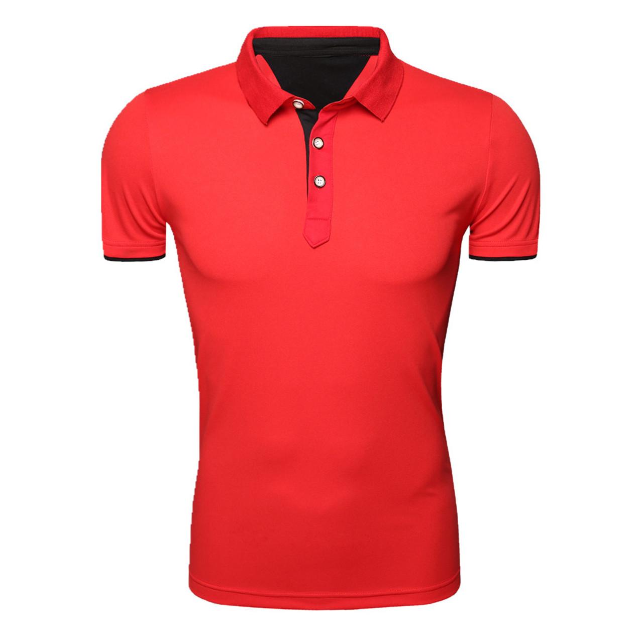 cc2f92bbfab3 ... T-Shirt Mens Fashion Color Printing Shirt Short-Sleeve T Shirt Men Slim  Men ...