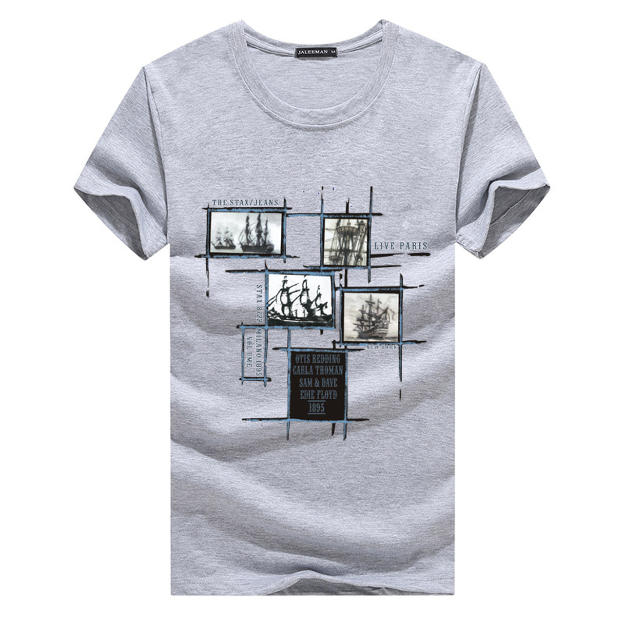 ever popular on feet images of clearance sale Jalee Man 2018 Men's T-Shirts Plus Size 5XL Tee Shirt Homme Summer Short  Sleeve Men T Shirts Male TShirts Camiseta Tshirt Homme