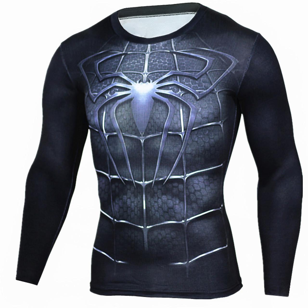 superman t shirt black full sleeve