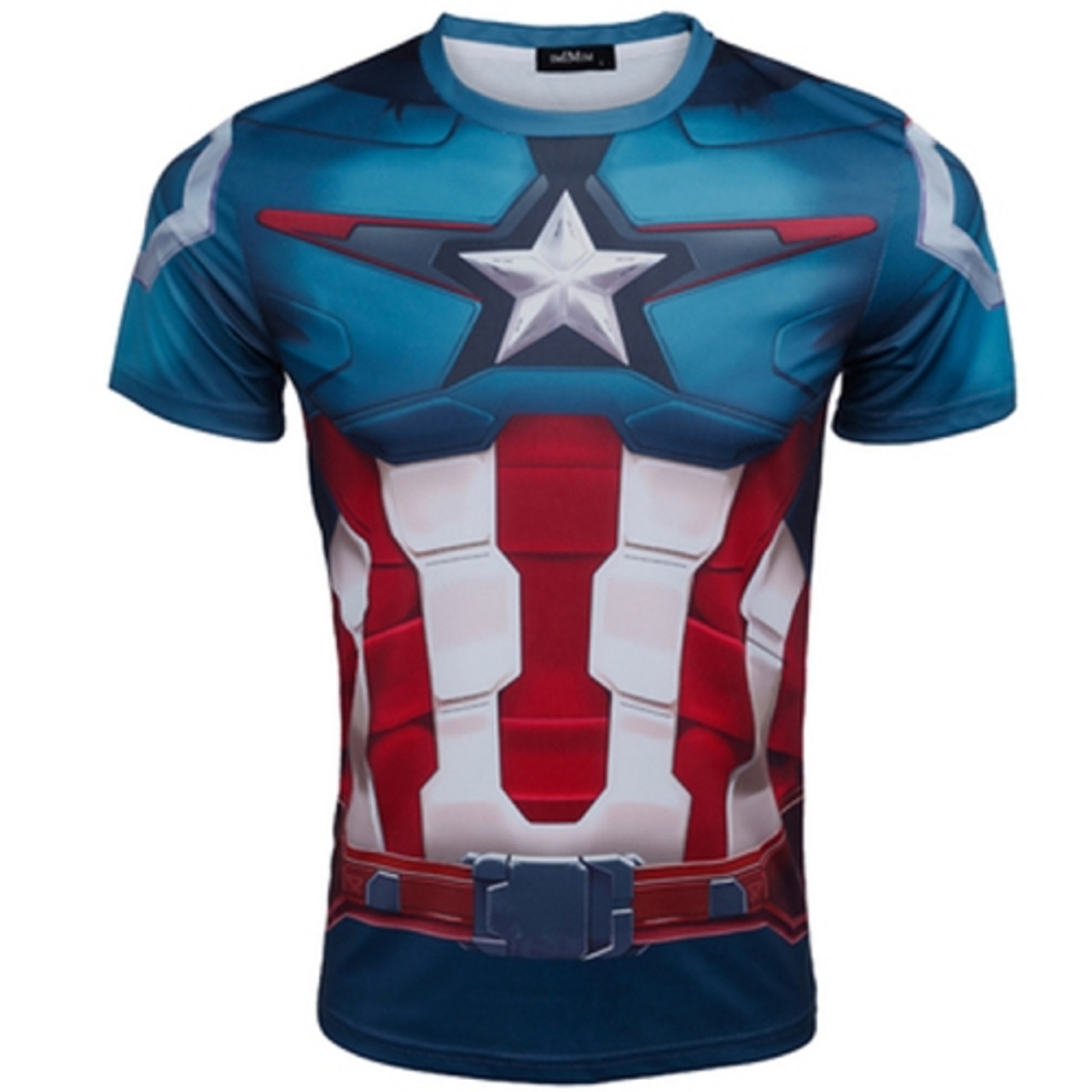c953fd415874 2016 new Fashion Marvel Armor Iron Man 3 MK42 Superhero t shirt men costume  jersey 3d tshirt camisetas masculinas