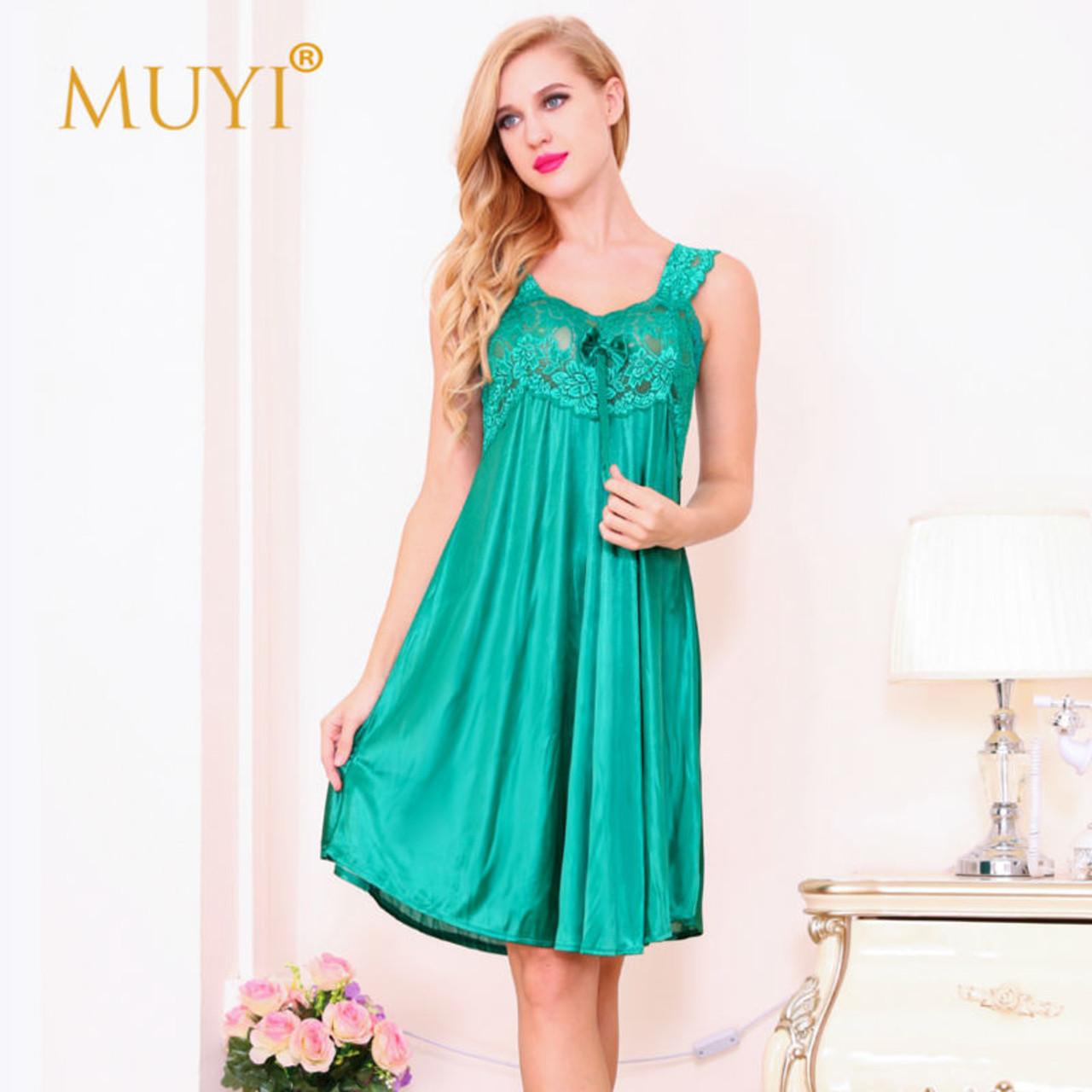6c0f246bdc90 ... Nightgowns Sexy Sleepwear Women Nightwear Sexy Night Dresses Lace  Babydoll Dress Sleep Lounge Plus Size Nightgown ...