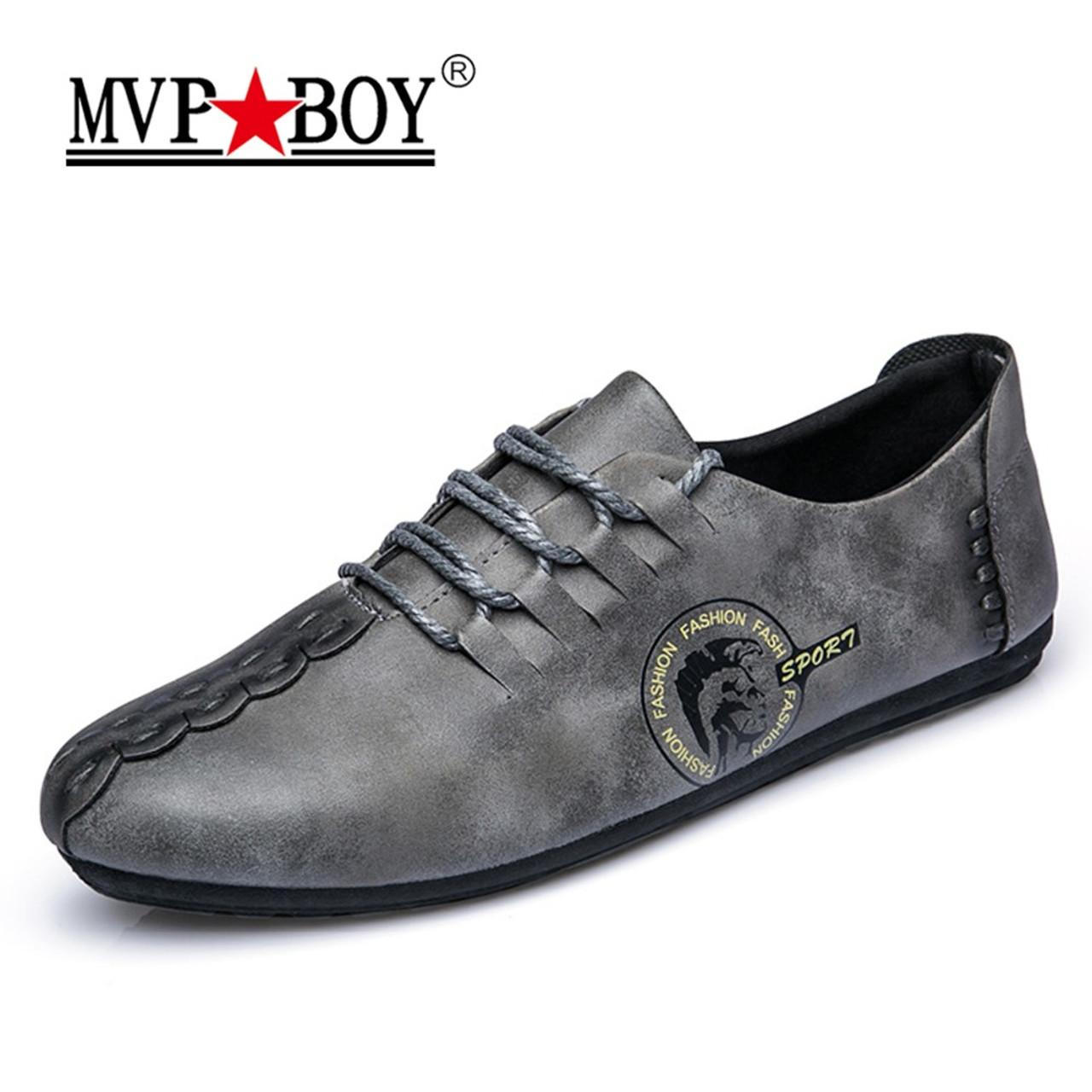 0c1e06cc3932c ... MVP BOY 2018 New Comfortable Casual Shoes Loafers Men Shoes Quality  Split Leather Shoes Men Flats ...