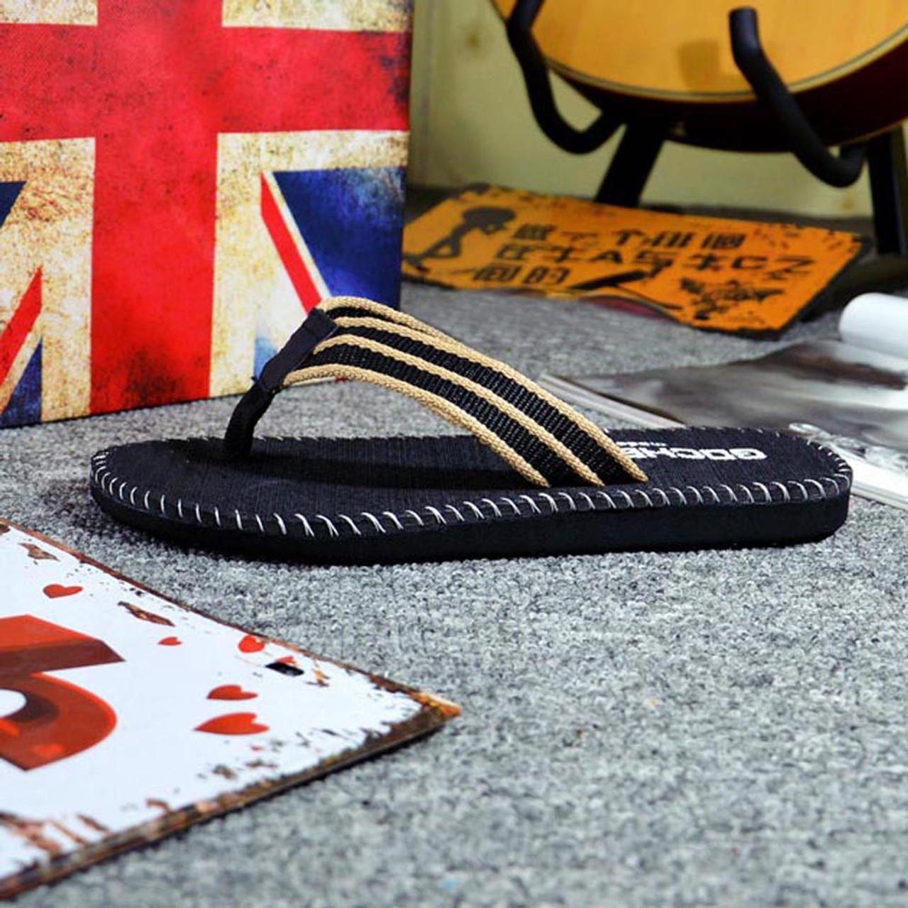 8aae5878d3f05 ... 2018 New Arrival Men Summer Flip Flops Shoes Casual Beach Sandals Male  Fashion Outdoor Slipper Flip ...