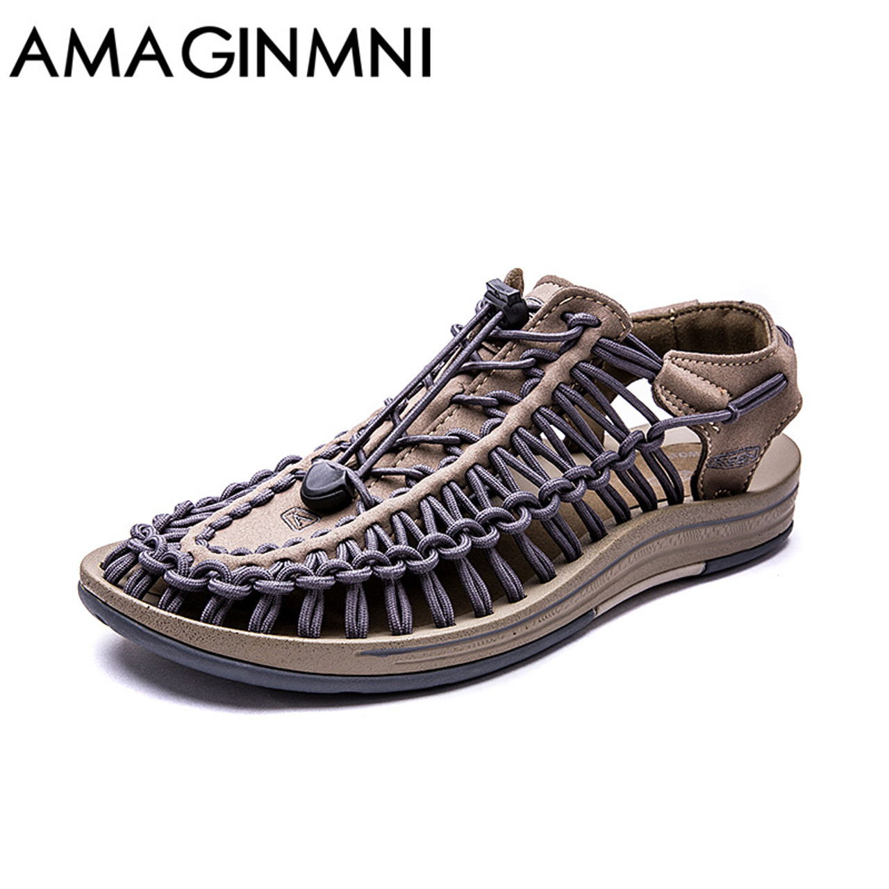 b78608df4d63 AMAGINMNI New arrived summer sandals men shoes quality comfortable men  sandals fashion design casual men sandals ...