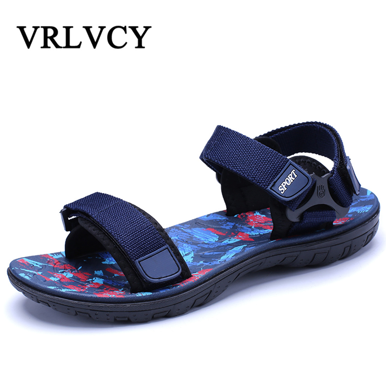 5003c451c9eb46 New Sandals Men Summer Beach Shoes Sandals Designers Mens Sandals Slippers  For Men Zapatos Sandalias Hombre ...