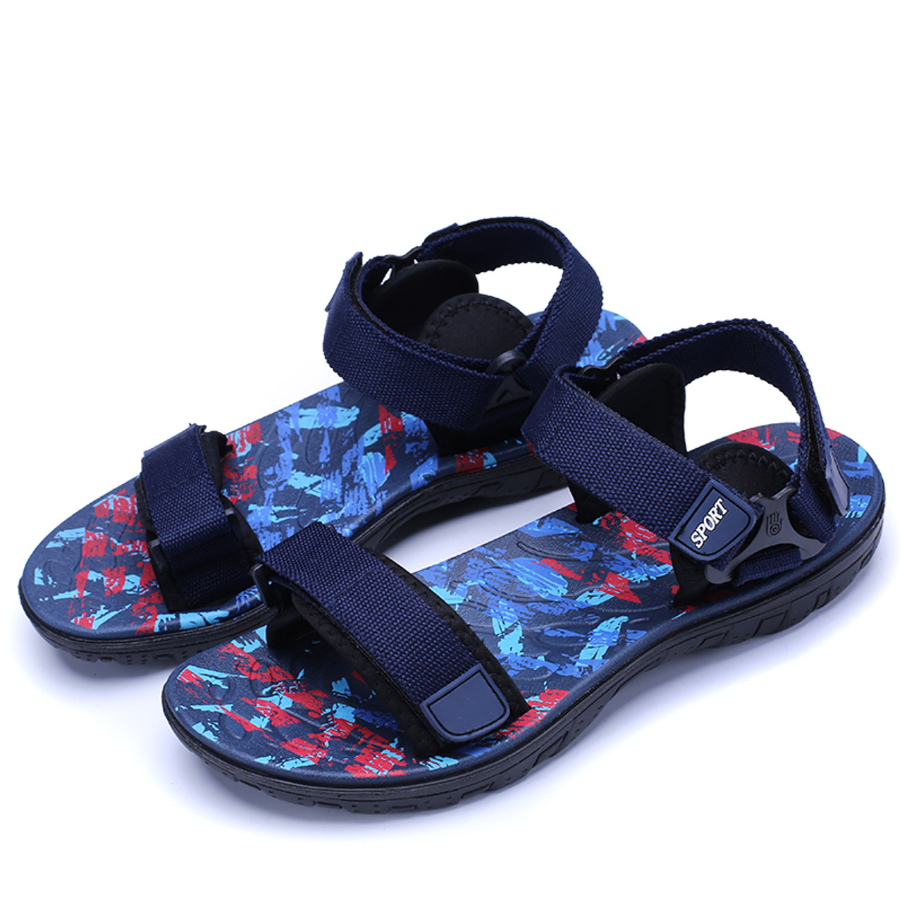 d647ed983897e4 ... New Sandals Men Summer Beach Shoes Sandals Designers Mens Sandals  Slippers For Men Zapatos Sandalias Hombre ...