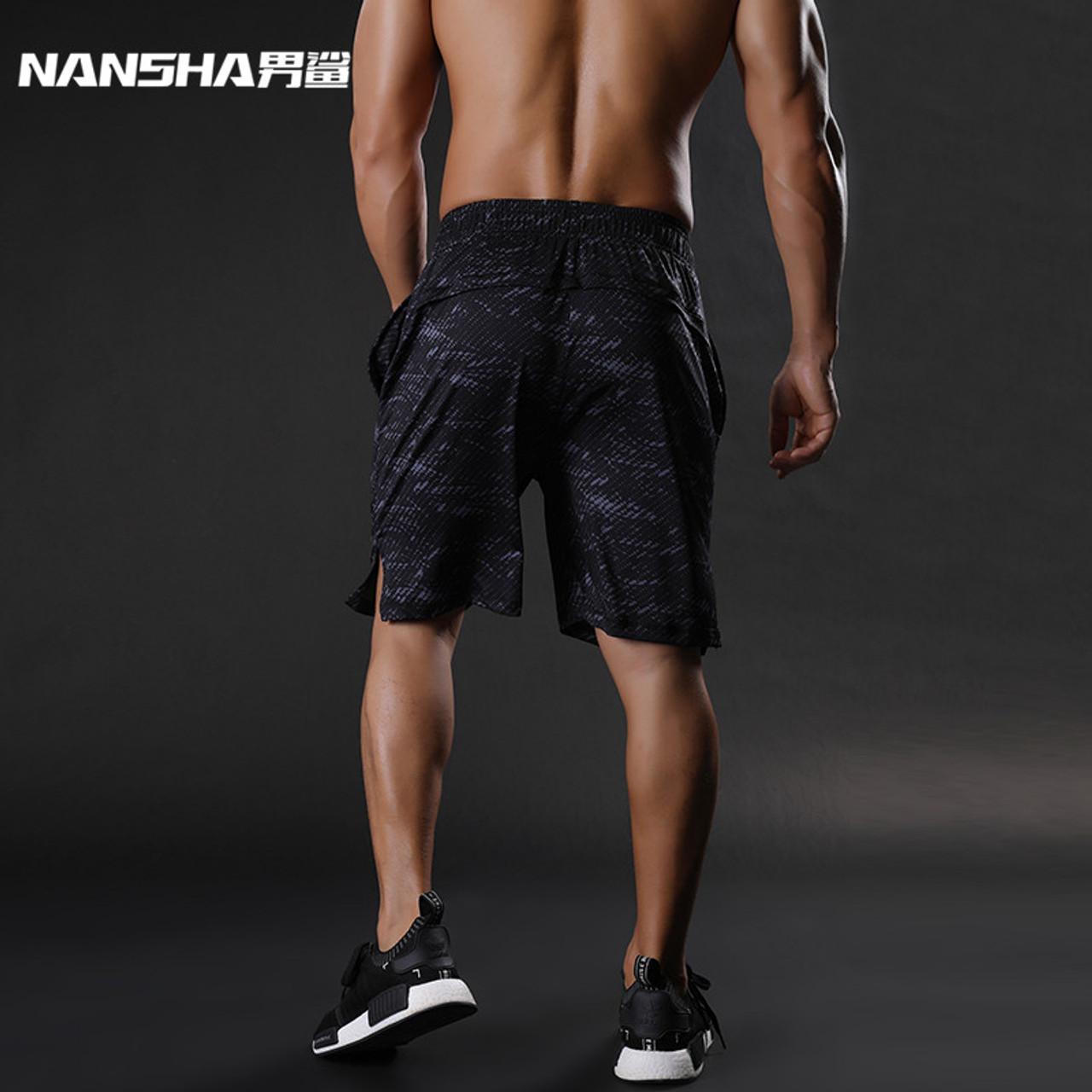 58f5a2f269a ... NANSHA Brand Mens Compression Shorts Summer Python Bermuda Shorts Gyms Fitness  Men Cossfit Bodybuilding Tights Camo ...