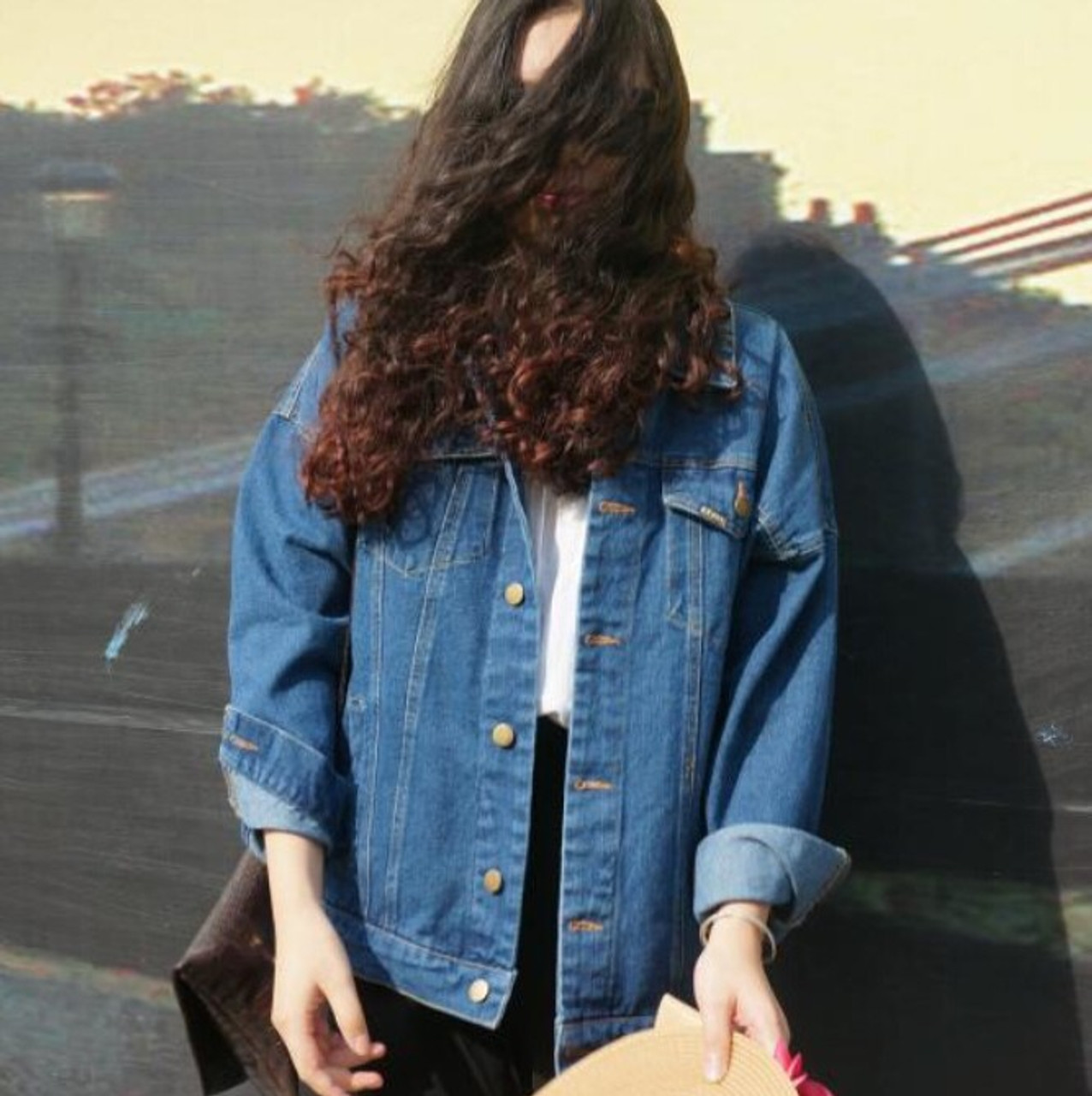 5b6ad99b2 Bf Wind Autumn And Winter Women Denim Jacket 2017 Vintage Harajuku Oversize  Loose Female Jeans Coat Solid Slim Chaquetas Mujer