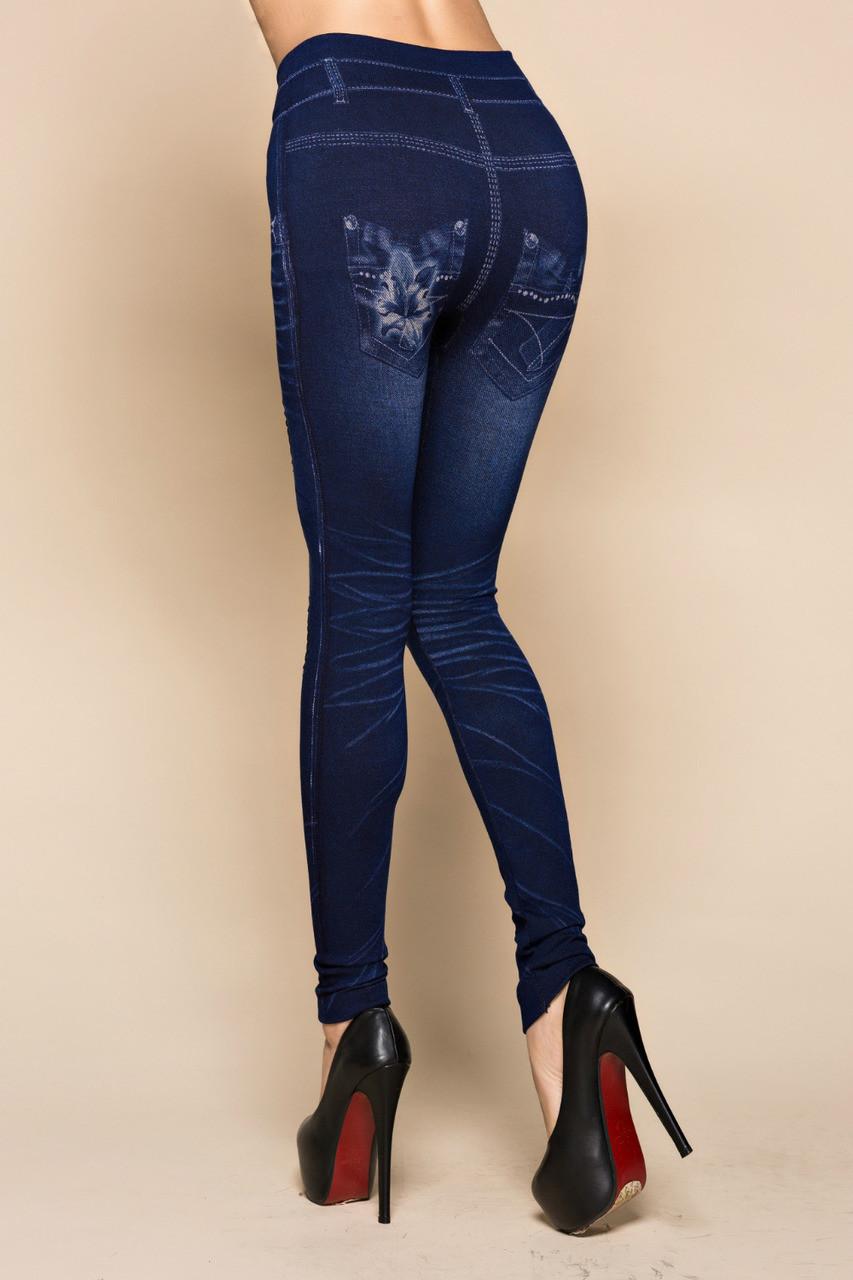 4236641588c ... Fashion Slim Women Leggings Faux Denim Jeans Leggings Sexy Hole Heart  Printing Casual Women Clothing Pencil ...