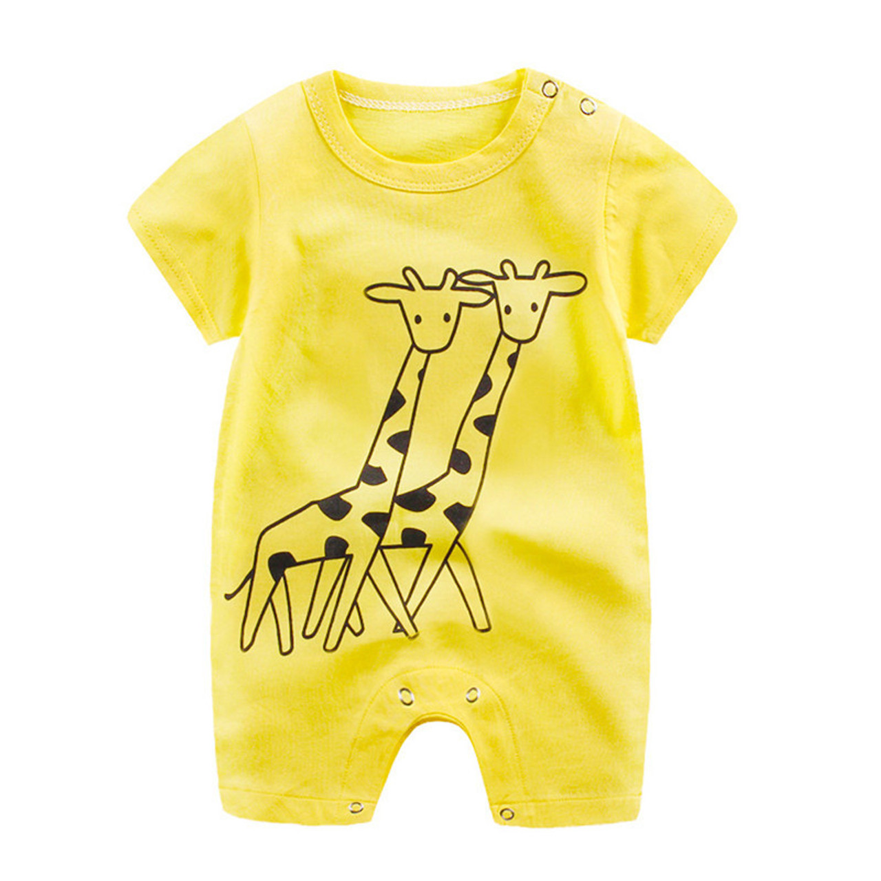 a3df6482a3a 2018 New baby rompers Newborn Infant Baby Boy Girl Summer clothes Cute  Cartoon Printed Romper Jumpsuit ...